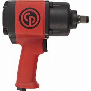 Chicago Pneumatic Air Impact Wrench  U2014 3  4in  Drive  7 5