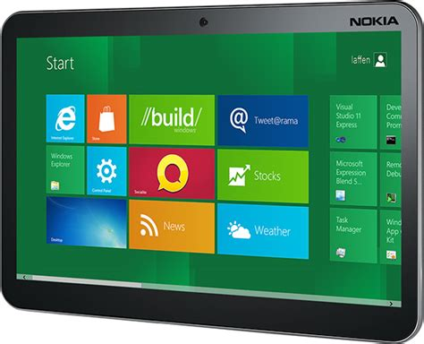 Windows Mobile Tablet by Nokia Will Make A Range Of Tablets And Hybrid Smart Mobile