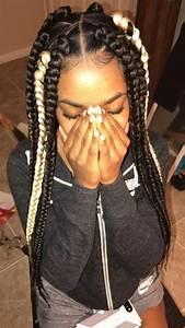 Triangle Box Braids ♀️♀️♀️♀️ . . Follow Us @Hair,Nails ...