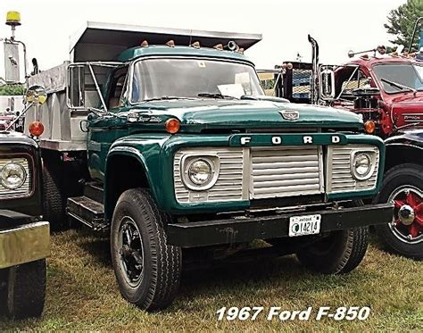 Ford F 850 by 1967 Ford F 850 Dump Truck Other Truck Makes