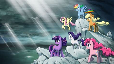 My Pony Anime Wallpaper - my pony friendship is magic wallpaper and