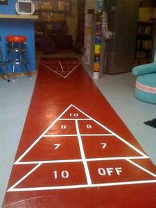 How To Paint Your Own Shuffleboard