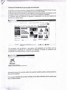 Pr U00e1ctica De Simulaci U00f3n De Un Servidor Web Bancario