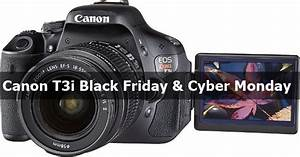 10 Best Canon T3i Black Friday Deals  2019