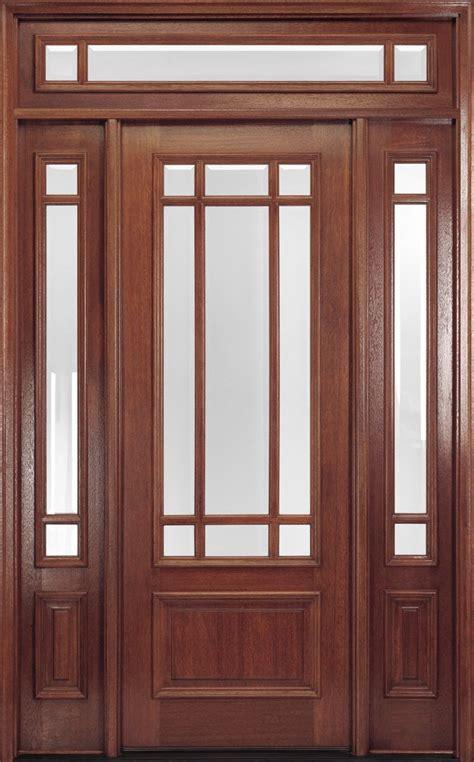 exterior front doors exterior doors 9 lite 8ft mahogany front door