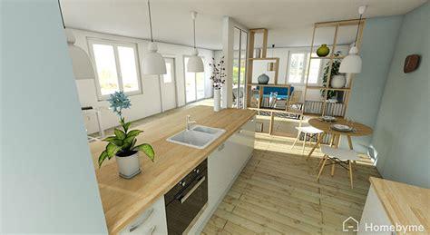ouverture mur cuisine salon ordinaire ouverture mur cuisine salon 6 cuisines semi