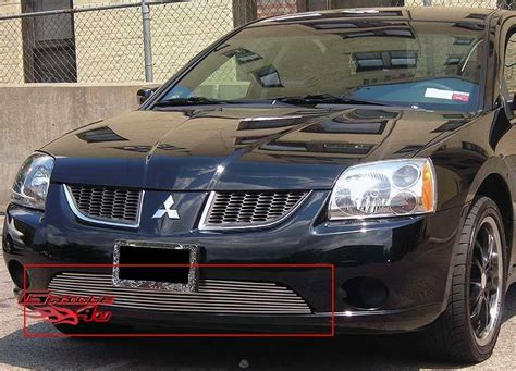 04 Mitsubishi Galant by For 04 06 Mitsubishi Galant Ralliart Bumper Billet Grille