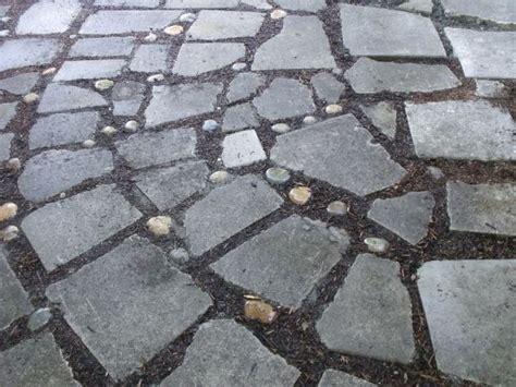 broken concrete quot paver quot patio start to finish