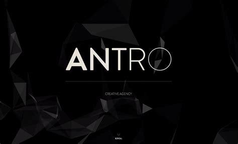 antro  page website award