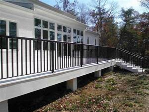 Decorative Aluminum Railing Self Supporting Balcny