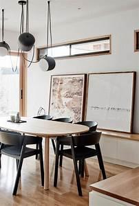 Salle A Manger Noir : salle a manger noire maison design ~ Teatrodelosmanantiales.com Idées de Décoration