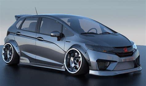 Modified Honda Jazz models to feature at SEMA 2014 Image ...