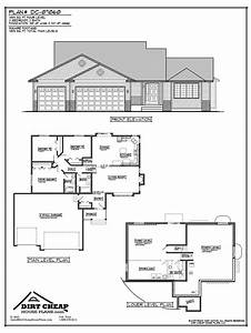 Inspiring Cheap Home Plans #9 Cheap 4 Bedroom House Plans ...