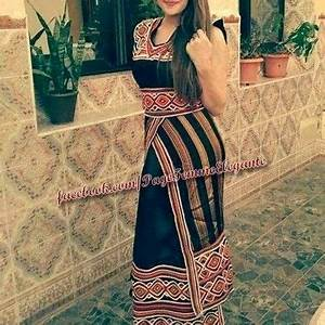 robe kabyle noir 2017 bouira pinterest robe caftans With les robe kabyle 2017