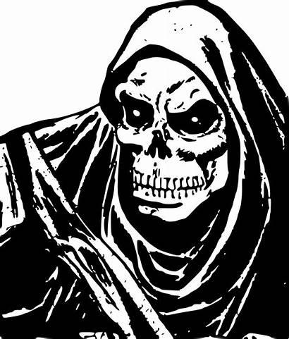 Death Skeleton Face Evil Clipart Svg Horror