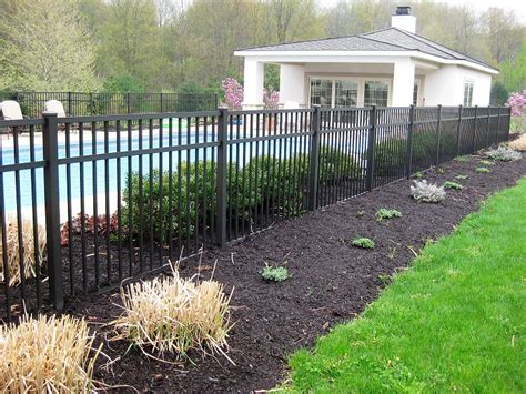 pool fencing styles aluminum pool fencing decorative fences