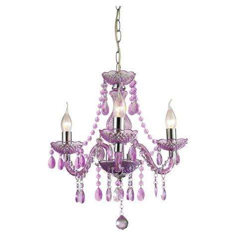 purple mini chandelier vivi s room