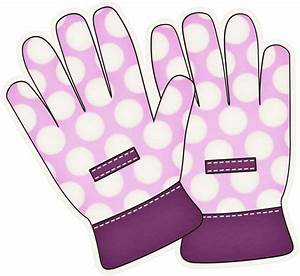 Glove clipart gardening glove - Pencil and in color glove ...