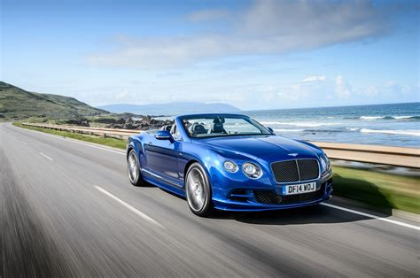 2018 Bentley Continental Gt Speed Convertible Front Three