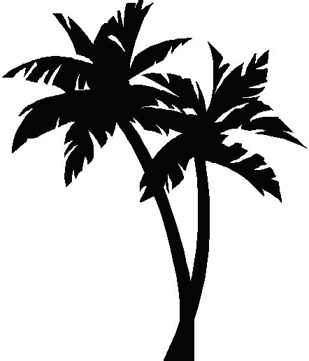 palm tree clipart black and white no background palmtree palm tree image ink palm