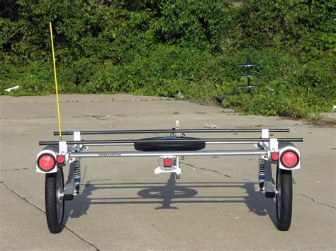 rack and roll safety pole and clip for yakima rack and roll trailer