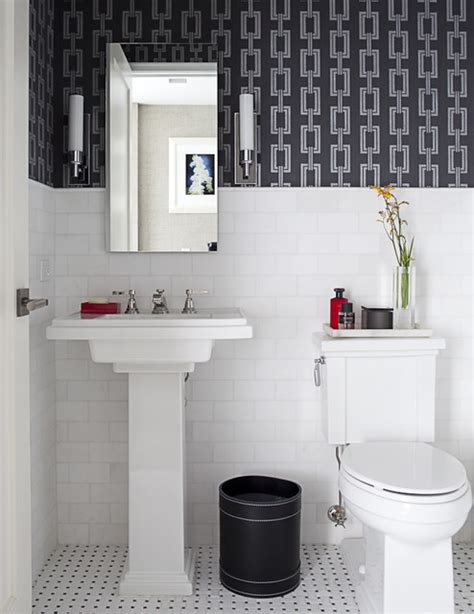 architectural powder room traditional bathroom
