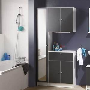 Meuble Bas 2 Portes : meuble bas 2 portes remix gris ~ Dallasstarsshop.com Idées de Décoration