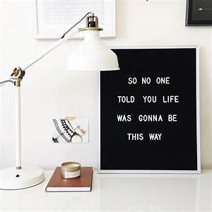 the coolest customizable art felt letter boards and black With felt sign board letters