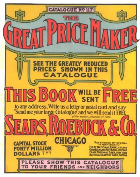 Mailorder Catalog  Sears, Roebuck And Company Leading