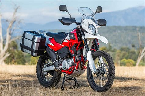 Meet The Superdual X Adventure Bike By Swm