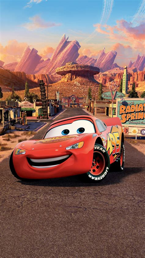 Car Wallpapers Cars Disney by Cars 2006 Phone Wallpaper Lightning Mcqueen And Cars