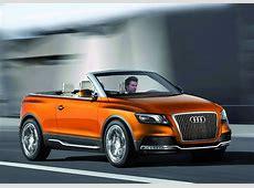 Audi Cross Cabriolet quattro Concept Car Body Design