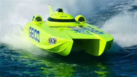Offshore Boats Videos by Miss Geico 213mph World Chion Offshore Turbine Boat On