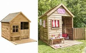 Cabane De Jardin Enfant : 6 cabanes en bois pour enfant prix light joli place ~ Farleysfitness.com Idées de Décoration