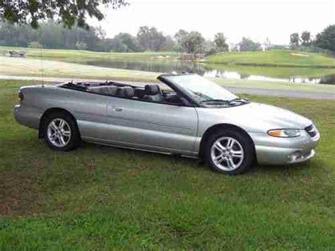 2000 Chrysler Sebring Jxi by Purchase Used 2000 Chrysler Sebring Jxi Convertible 2 Door