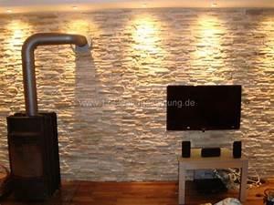 Naturstein Wandverkleidung Wohnzimmer : mediterrane wandgestaltung im wohnzimmer mit kunststeinpaneele ~ Michelbontemps.com Haus und Dekorationen