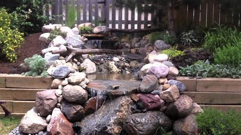 pondless waterfall  aquascape products youtube