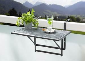 Table De Balcon : table pour balcon objet maison insolite mr etrange ~ Teatrodelosmanantiales.com Idées de Décoration