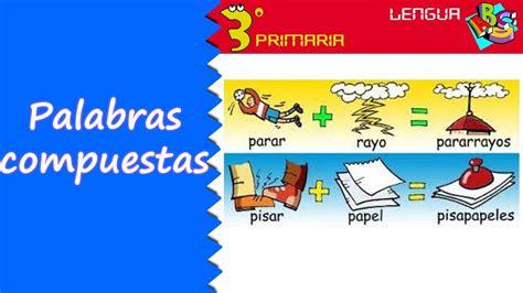 Lengua Castellana 3º Primaria Tema 11 Las palabras