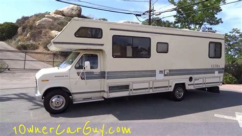 ford motorhome 1986 ford econoline e350 motorhome autos post