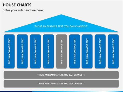 House Chart Template by Powerpoint House Chart Sketchbubble