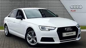 FE17DVT AUDI A4 TDI ULTRA SPORT WHITE 2017, Leicester Audi ...