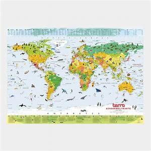 Wandtattoo Weltkarte Kinder : terra kinderweltkarte von columbus wktr56 echtkind ~ Eleganceandgraceweddings.com Haus und Dekorationen