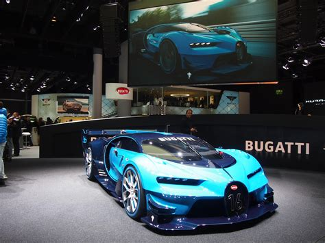 Official #bugatti twitter feed if comparable, it is no longer bugatti. Bugatti unveils its Vision Gran Turismo show car