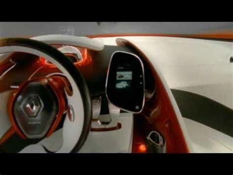 renault dezir interior renault concept car dezir interior youtube