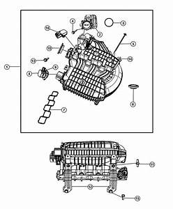 Chrysler Pacifica Actuator  Intake Short Running Valve