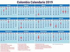 Calendario Festivos Colombia 2019 newspicturesxyz