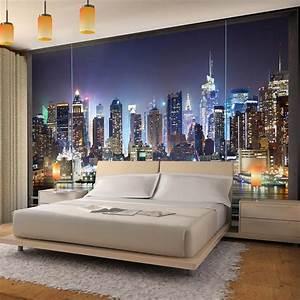 vlies fototapete fenster nach new york ist eine With balkon teppich mit new yorker tapete