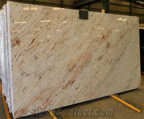 polished ivory brown granite slablow price  china