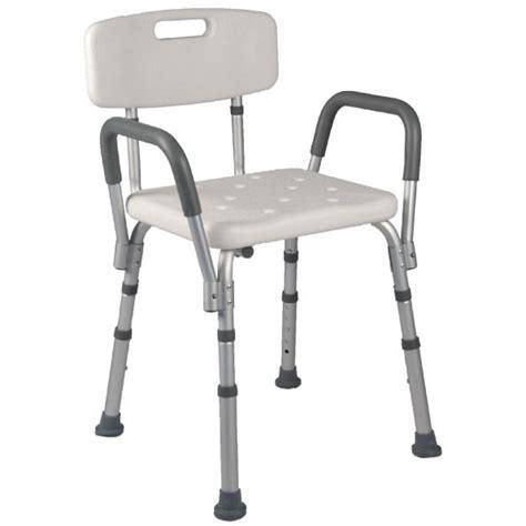 sedia da doccia sedia da doccia con braccioli estraibili e schienale